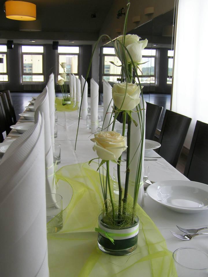 dekoracja sali weselnej topaz