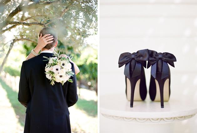 czarne buty na wesele