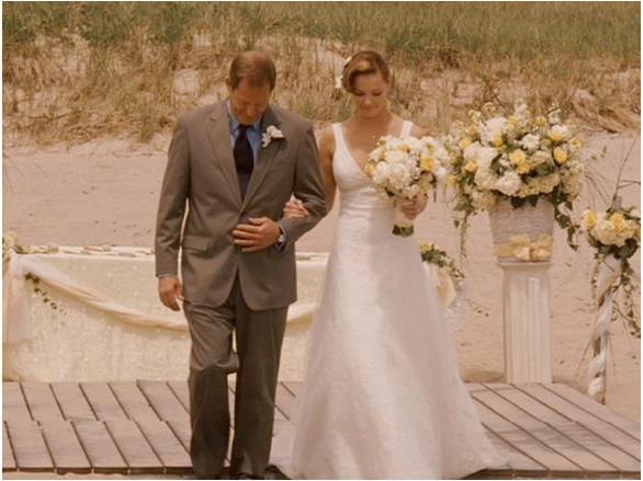 Suknia Katherine Heighl w filmie 27 Sukienek