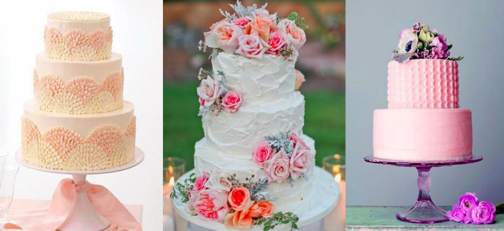 tort weselny dekoracja kremem