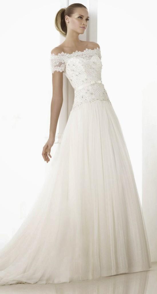 285f450c49 8 mocnych trendów sukni ślubnych na rok 2015 - Ślub w Białej