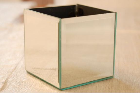 lustrzany wazon