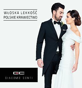Giacomo Conti garnitury ślubne