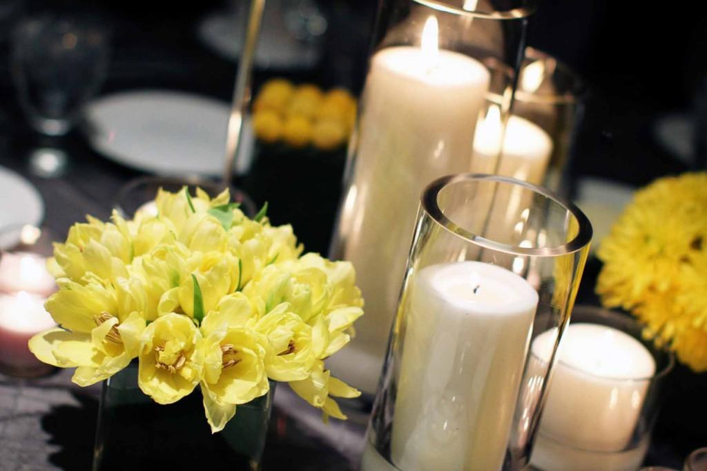 399-candles-wedding-centerpieces