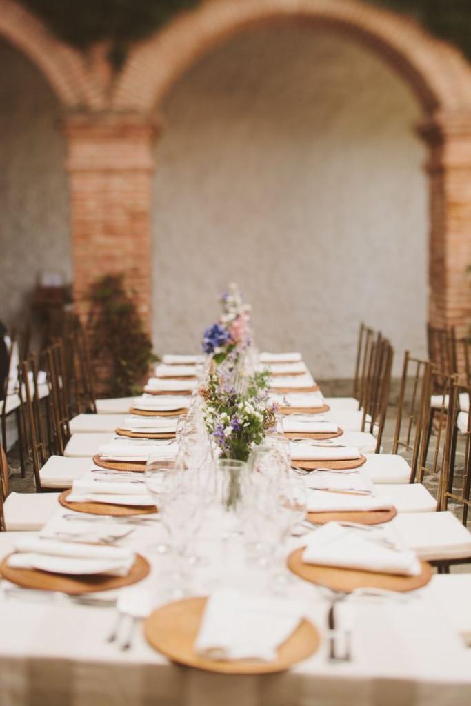 Królewski stół weselny