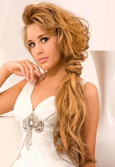 Простые женские прически на длинные волосы 187
