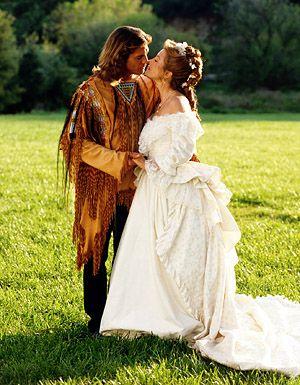 Suknia Jane Seymour w serialu Dr Quinn
