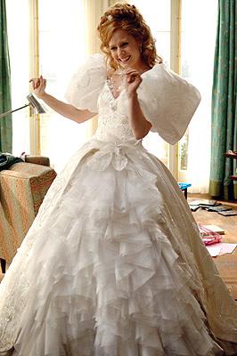 Suknia Amy Adams w filmie Zaczarowana