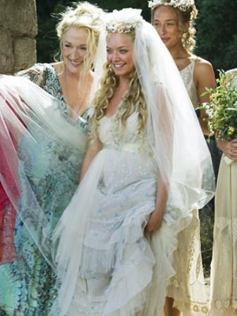 Sukienka Amandy Seyfried Mamma Mia