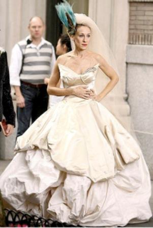 Suknia Sarah Jessica Parker Sex w wielkim mieście