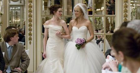 Suknie ślubne Kate Hudson i Anne Hathaway Ślubne wojny