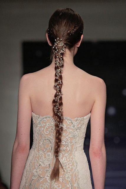 fryzura na wesele włosy długie