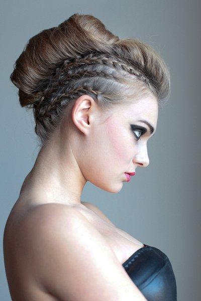 fryzura-wieczorowa