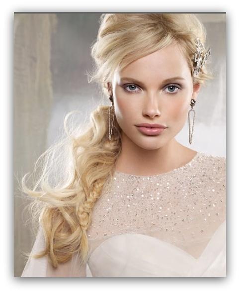 fryzury-ślubne-z-grzywką