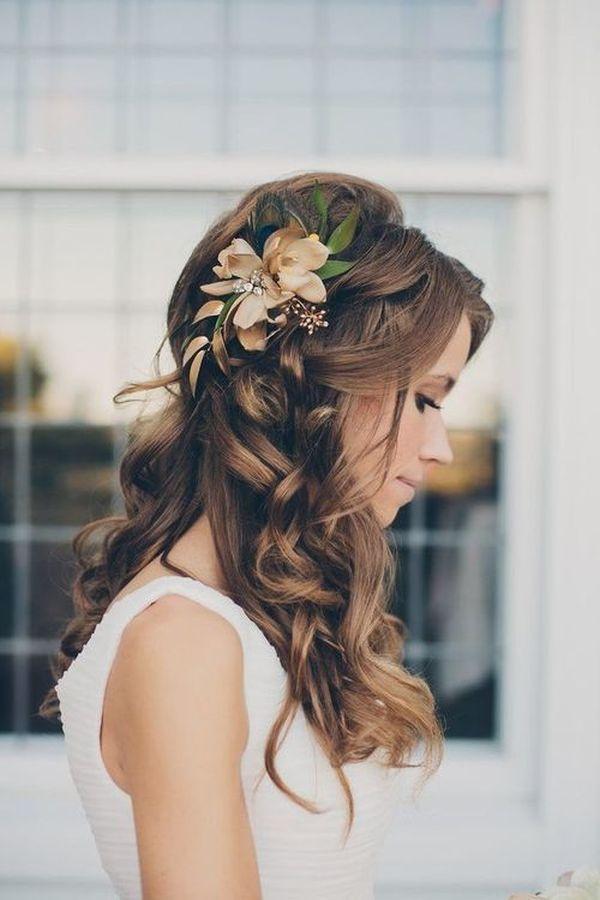 romantyczna fryzura ślubna