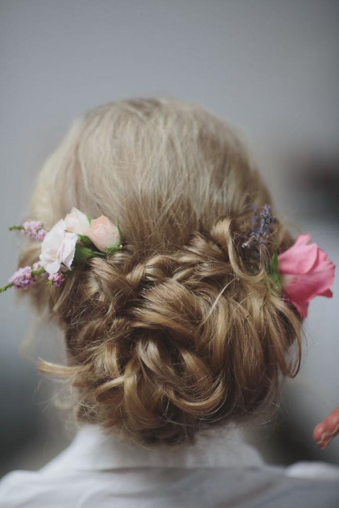 romantyczna fryzura weselna