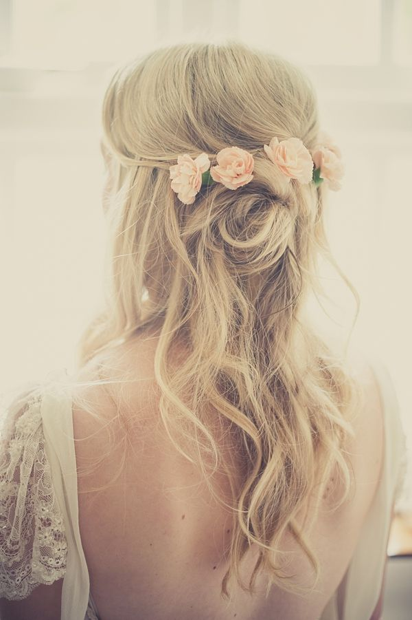 rozpuszczone włosy na wesele