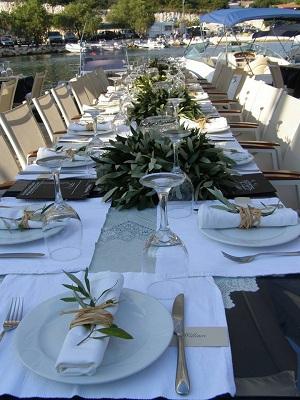 kefalonia Ślub i przyjęcie weselne w ogrodzie oliwnym