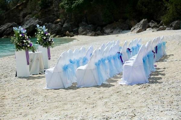 Ślub na plaży kefalonia