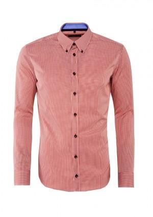 różowa koszula w kratke, Giacomo Conti