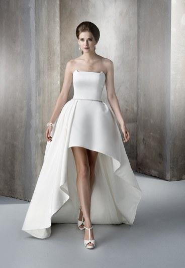 Krótkie suknie ślubne 2015 Gala Leti