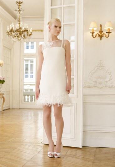 Krótkie suknie ślubne 2015 Pronuptia
