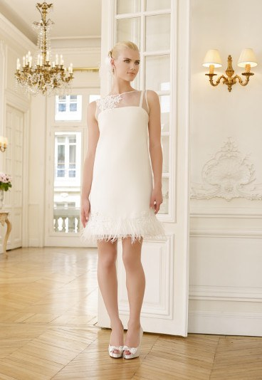 5e3f493ca9 ... Krótkie suknie ślubne 2015 Pronuptia ...
