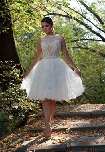 Krótkie suknie ślubne 2015 Viola Piekut1