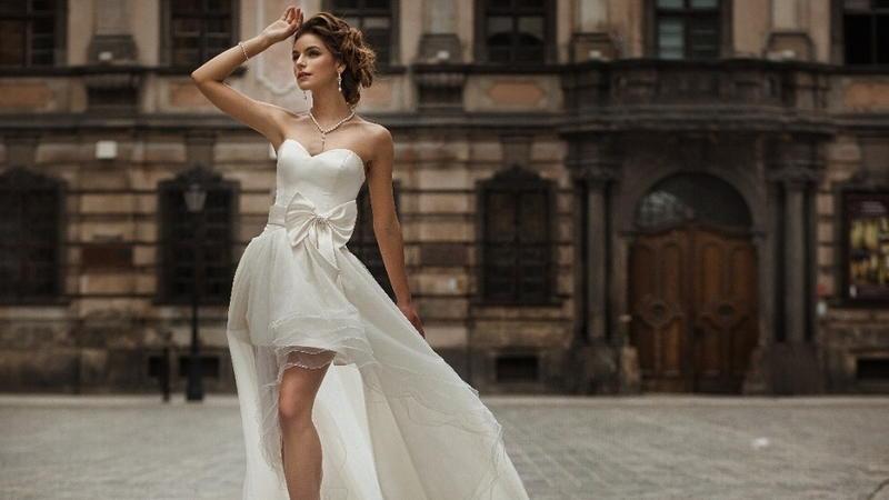 b2b528317c Krótka suknia ślubna - Ślub w Białej