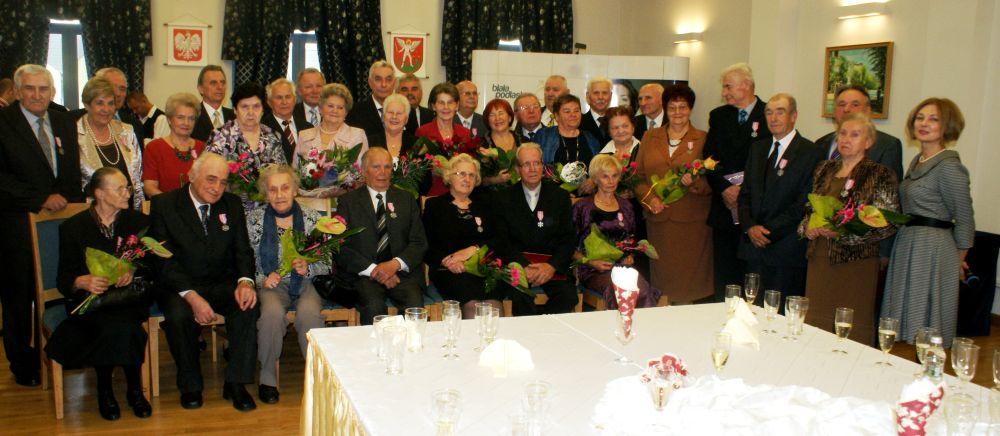 medale za długoletnie pożycie Biała Podlaska
