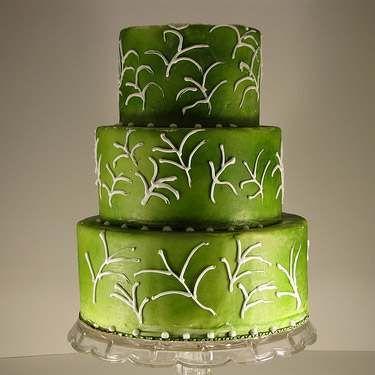 oliwkowy tort