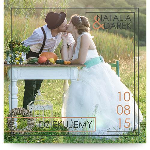 Podziękowania dla gosci, www.magnetcards.pl