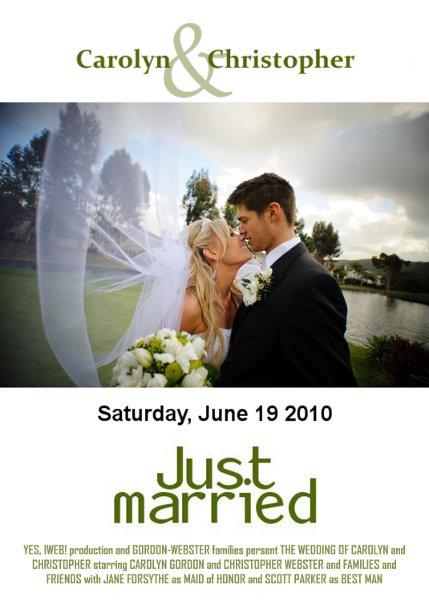 Plakat ślubny, www.hubpics.com