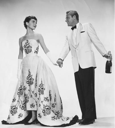 Suknia Audrey Hepburn w filmie Sabrina