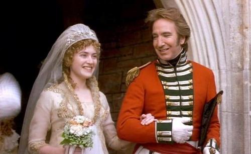 Suknia Kate Winslet w filmie Rozważna i Romantyczna