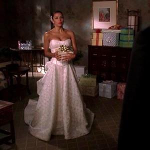 suknia ślubna Eva Longoria Gotowe na wszystko