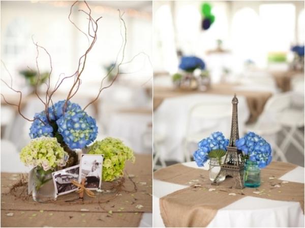 niebieski ślub