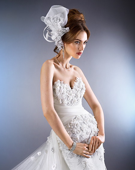 fascynator do ślubu