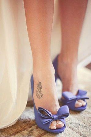 fioletowe buty ślubne