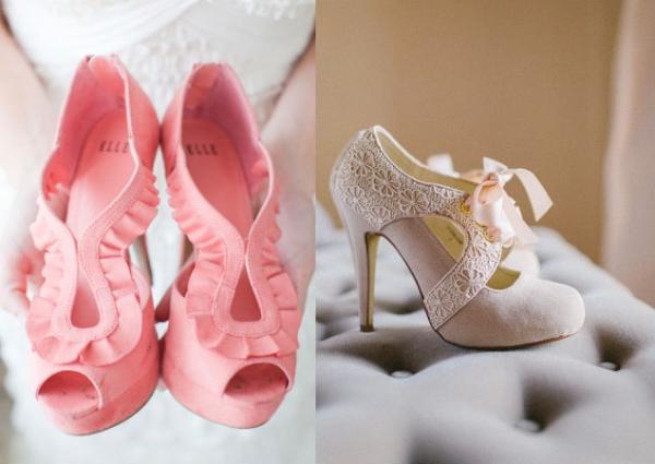 c2827992 Stopy w kolorze-kolorowe buty ślubne - Ślub w Białej