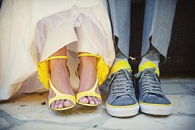wesele na żółto