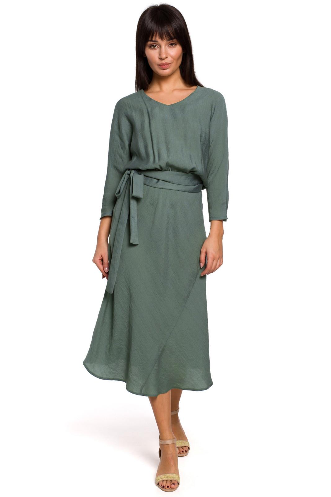 sukienka-w-ksztalcie-litery-a-midi avocado style