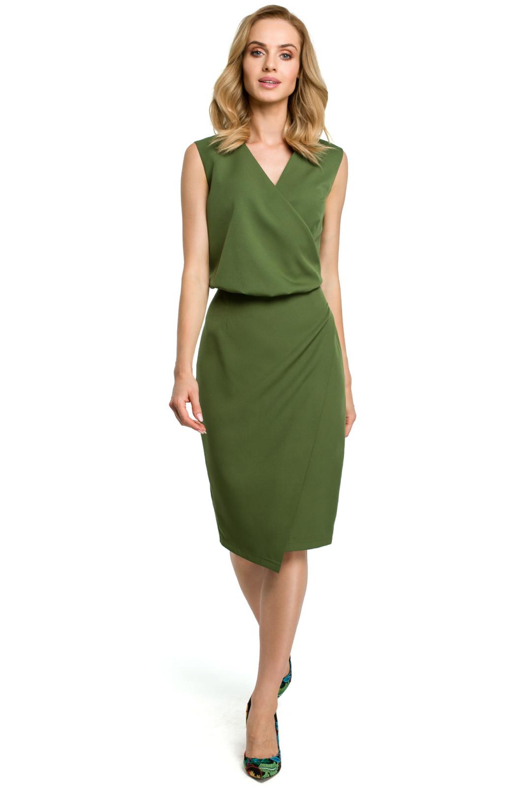 sukienka-z-dekoltem-avocado style