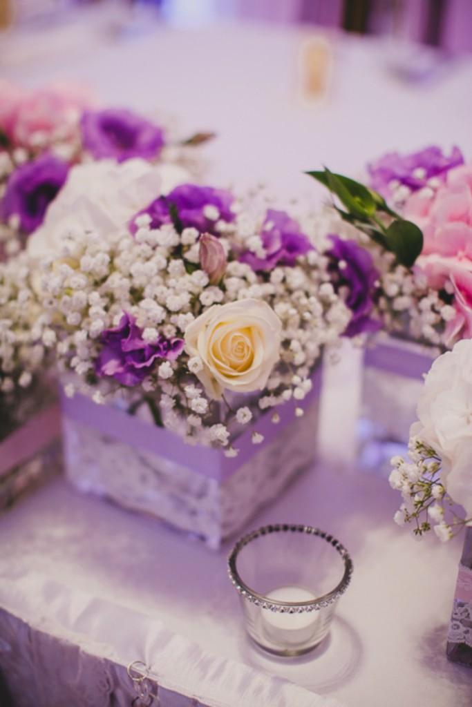 ślub I Wesele W Kolorze Fioletu I Lawendy ślub W Białej
