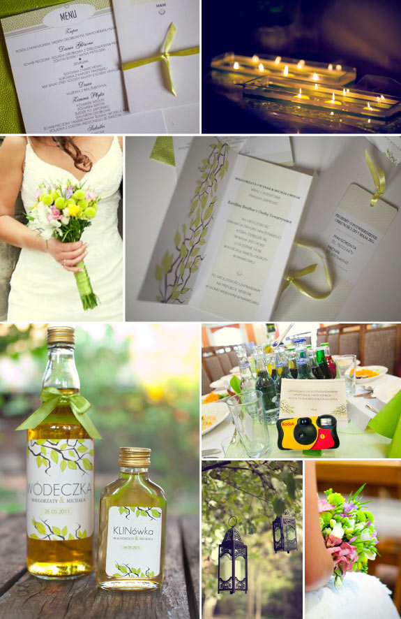 wiosenne inspiracje ślubne