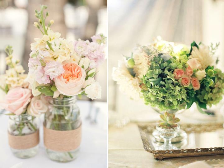wiosenne dekoracje weselne