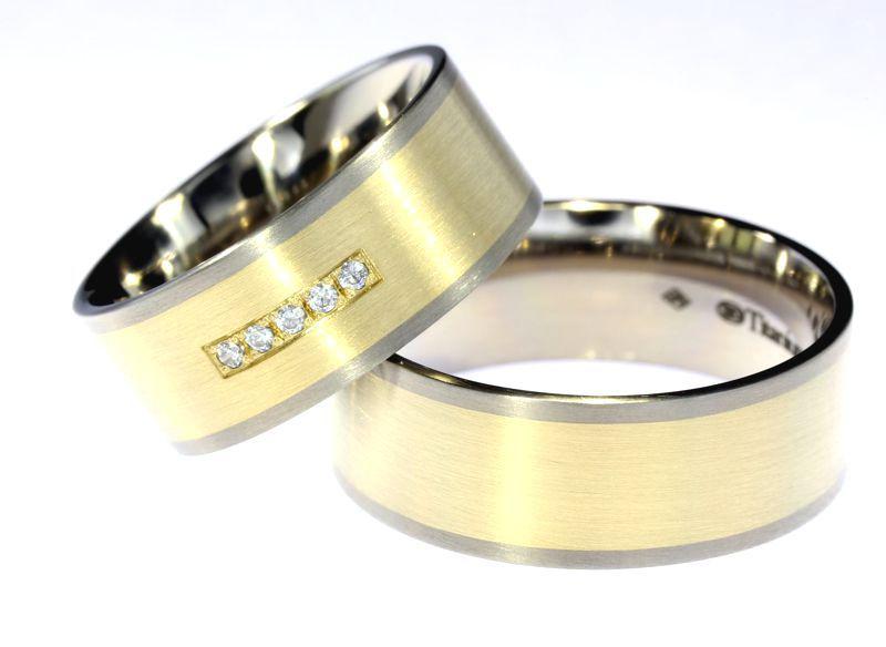 tytanowe obrączki ślubne ak-biżuteria