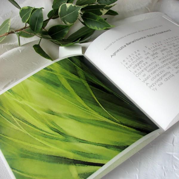 zaproszenie slubne zielone
