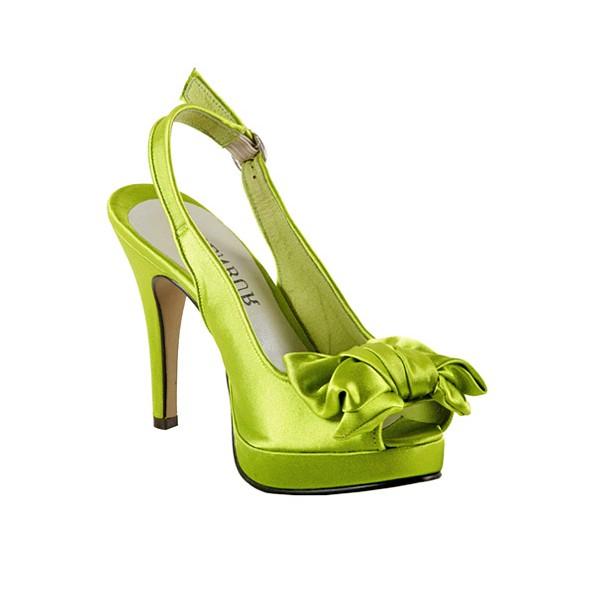 zielone buty